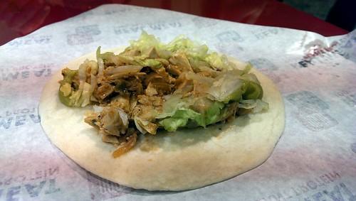 Beyond Meat Vegan Chicken Taco