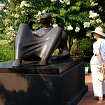 Henry Moore at the Atlanta Botanical Garden
