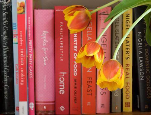 Tulips and Cookbooks!