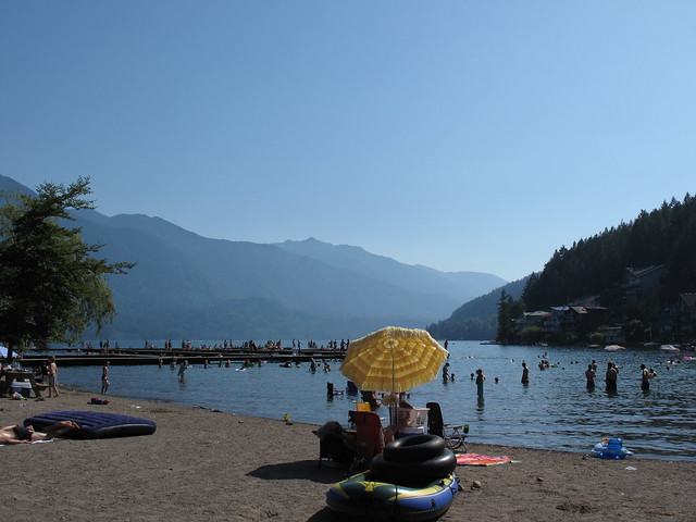 Cultus Lake Beach