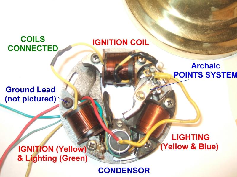 Vespa Stator Wiring Diagram : Modern vespa fixing stators electric boogaloo