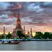 Dusk on Wat Arun by DanielKHC