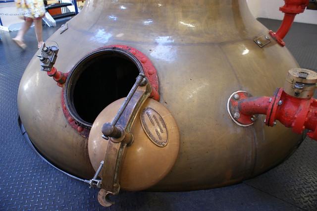 Spirit Still at Royal Lochnagar distillery