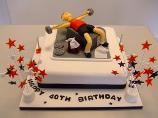 CAKE - weight training by www.cakechester.co.uk