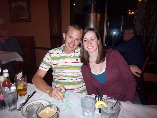 dinner with britni and joe