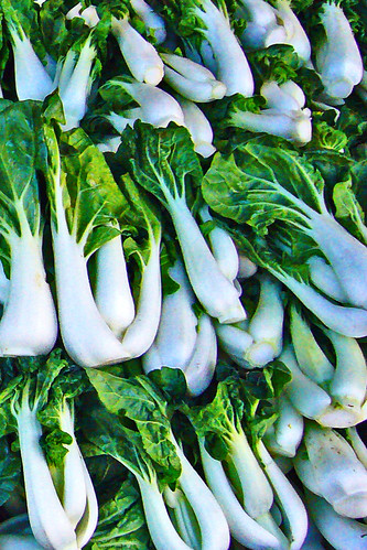 Bok Choy in Chinatown by Old Jingleballicks