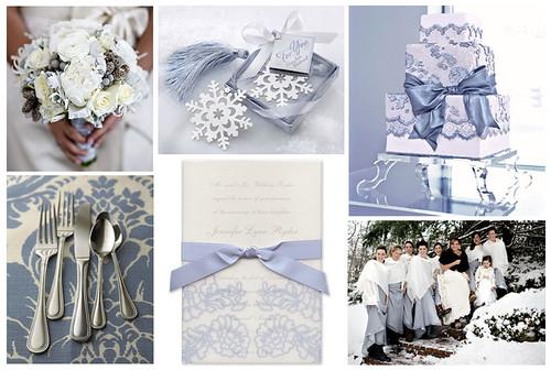 Matrimonio Tema Invernale : Noted finestationery ice blue wedding