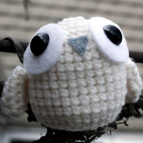 Amigurumi Snowy Owl Pattern   Etsy   500x500