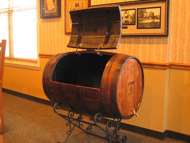 Whiskey Barrel Furniture Barrels Inside Four Roses Visitor Flickr Photo Sharing