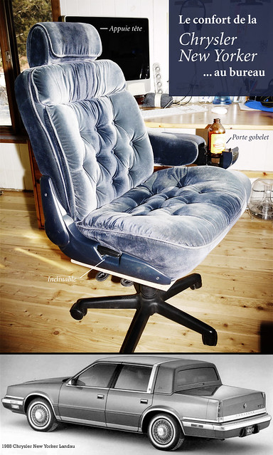 Chaise de bureau chrysler new yorker flickr photo sharing for Chaise longue speciale