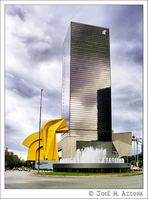 México DF. Torre Caballito.