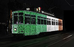 Tram for the 150th Anniversary of Italy's Unification
