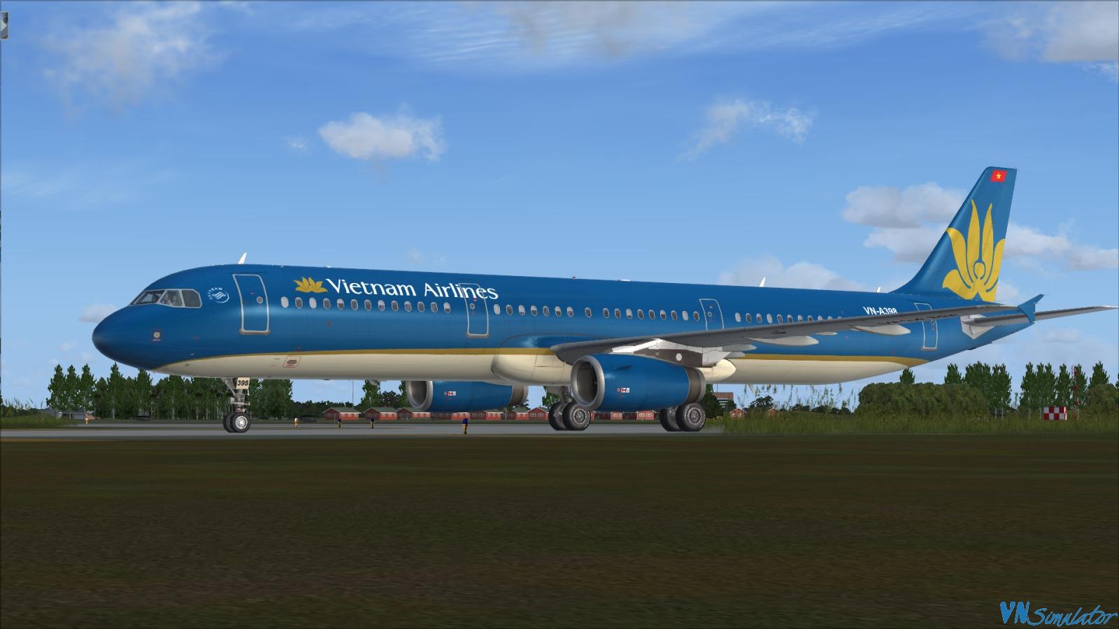 FSX/P3D - Paint Aerosoft Airbus A320/321 | Viet Nam