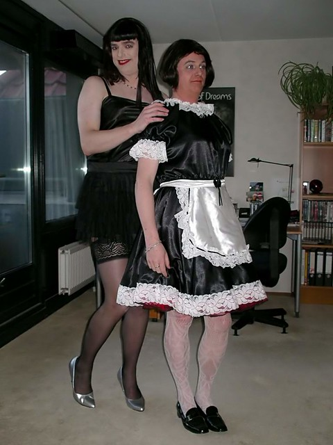 Sissy training with mistress v - 5 1