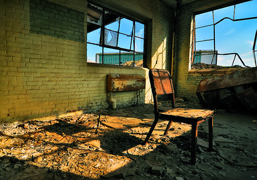 light shadow urban stilllife ny newyork abandoned industry window contrast lost chair nikon industrial factory shadows view decay seat exploring rusty longisland tokina abandon forgotten vista government bethpage defense 1224mm grumman d90 lifeafterpeople