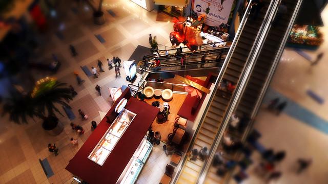 Shangri-la Mall Faux Tilt-Shift