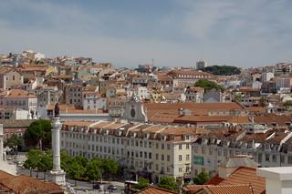 Billede af  Elevador de Santa Justa. portugal lissabon