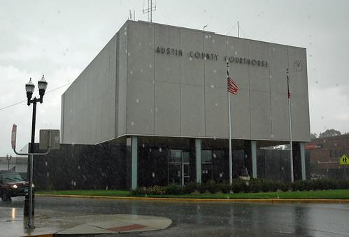 texas courthouse courthouses 1960 bellville texascountycourthouses austincounty uscctxaustin wyattchedrick ©2009stevenmwagner