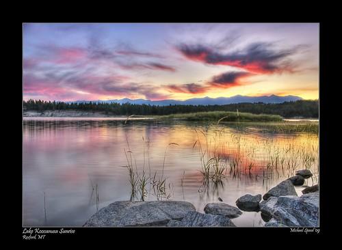 lake sunrise calendar madman hdr koocanusa 5exp