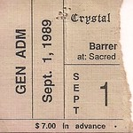 09/01/89 Barren Cross/Fortress @ Duluth, MN (Ticket)
