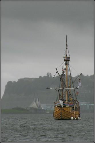 The 'Mathew' in Cardiff Bay