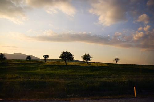 the trek to Pamukkale