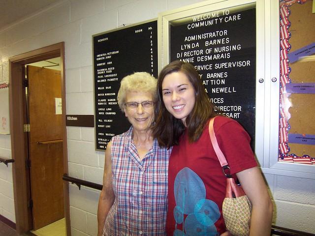 anna + grandma