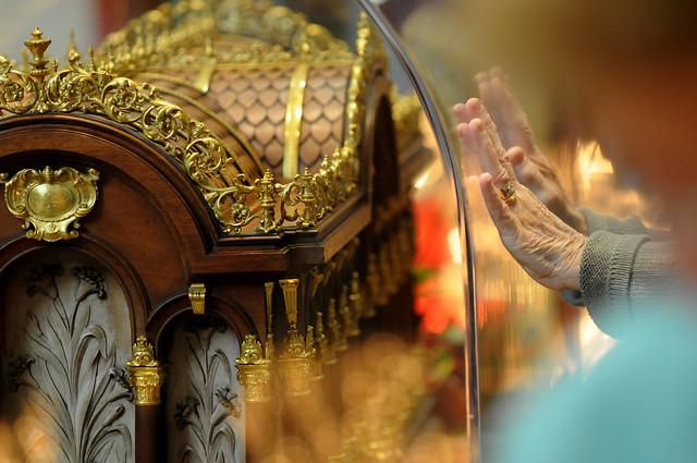 Saint Thérèse relics