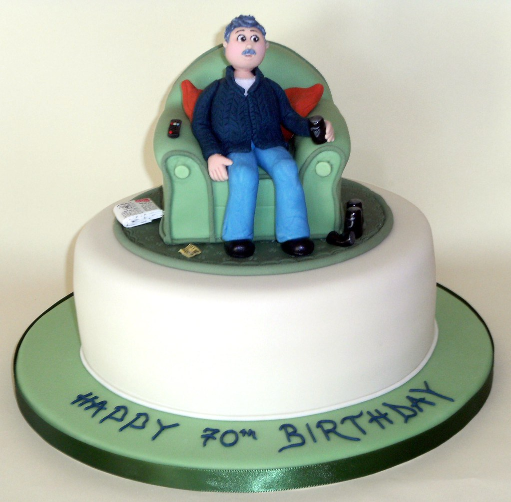 Father In Laws 70th Birthday Cake