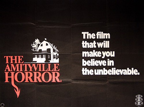 1979 Movie Posters: The Amityville Horror 1979 Original Vintage UK Quad Movie
