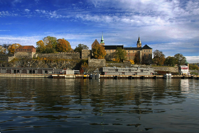 Slottet Oslo Norway Norway Oslo Akershus Fortress