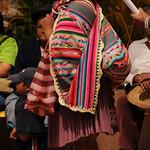 Colorful Manta - Political Rally in Tupiza, Bolivia