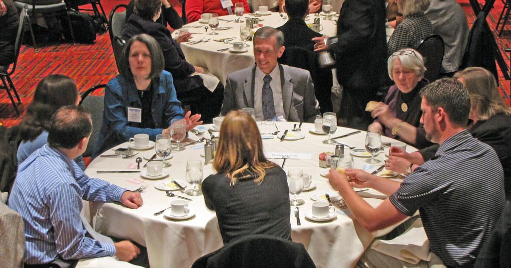 Ken Wiggins' table at NELA Banquet