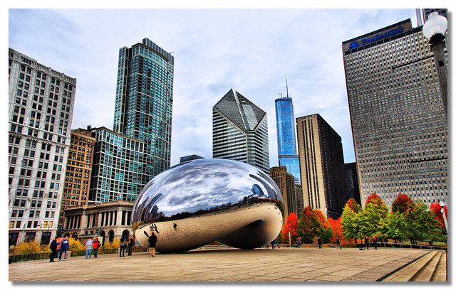 Millennium Park by CC user dhilung on Flickr