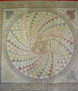 Mosaic image of Apollo