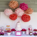 Candy Buffet and Dessert table by cupcakes & cartwheels by ArtisanCakeCompany