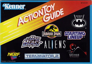 1993 Kenner Action Toy Guide