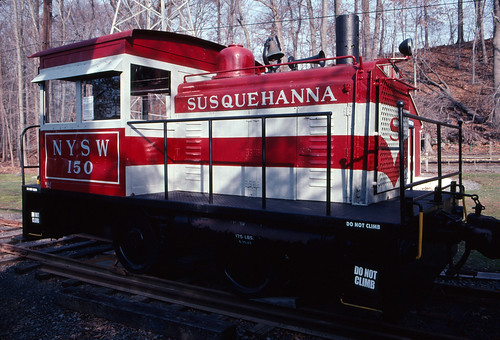 railroad usa newjersey unitedstates diesel engine slide scanned kodachrome susquehanna whitcomb whippany nysw nj10 minoltascandualiii whippanyrailmuseum