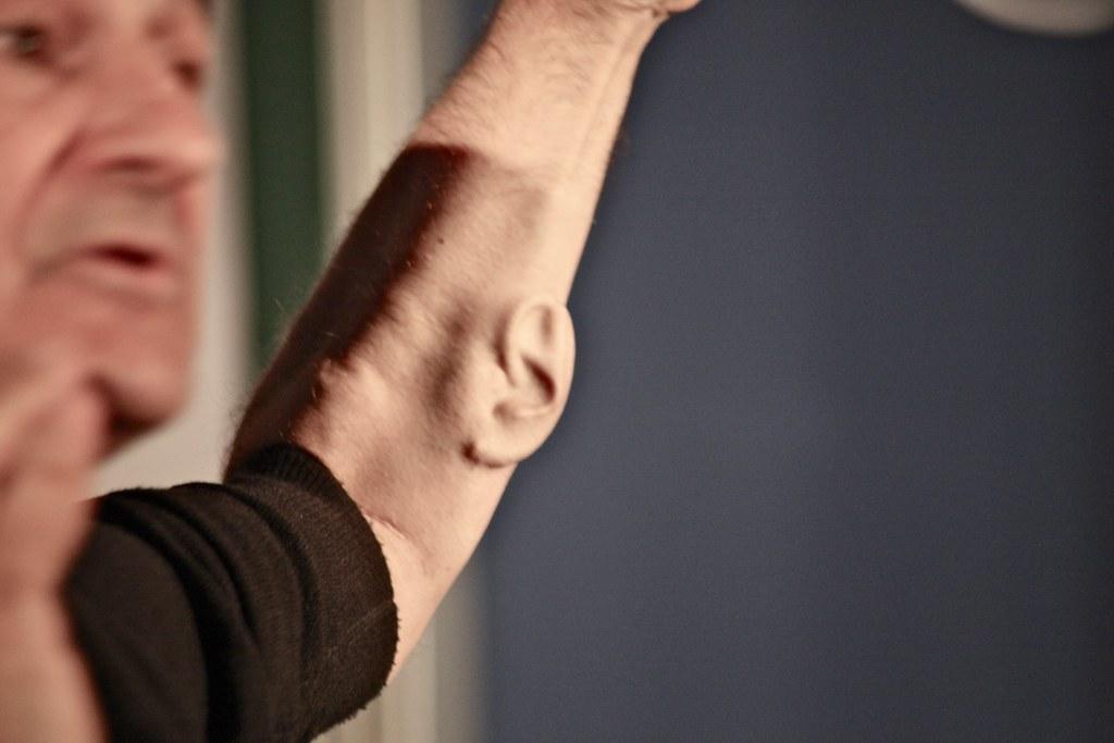 Stelarc, Ear on Arm, #virtualfutures