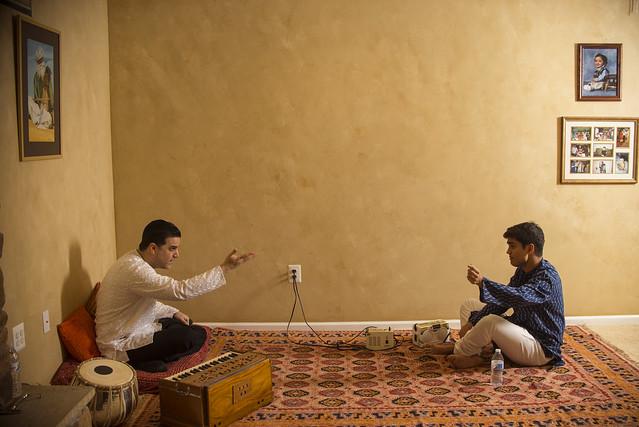 Humayun Khan and Ved Sheth