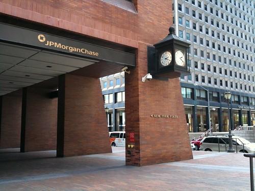 JP Morgan Clock