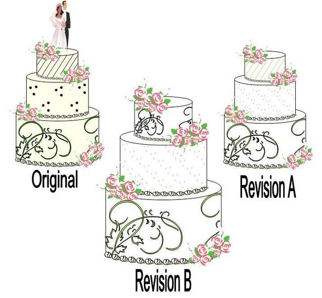 Sugar Sketch Cake Design : Wedding Design Sketch Flickr - Photo Sharing!