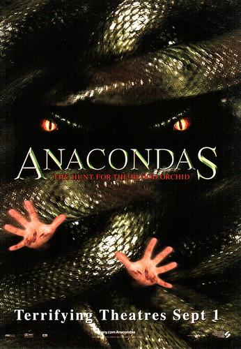 Anaconda 2 Poster Anacondas 2:The Hunt...
