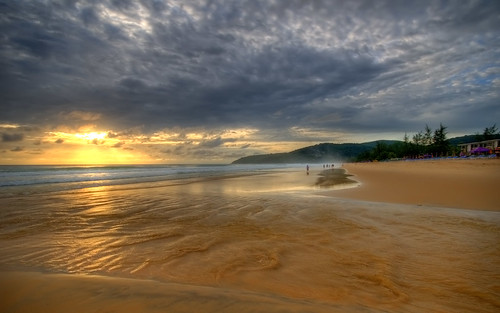 Karon Beach Sunset, Phuket.
