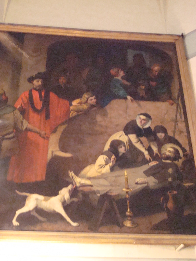 Death of San Roque de Montpellier