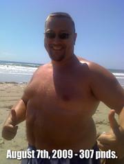 Lose fat, Yesterdays Fat Guy Rex Harris 307 pound photo