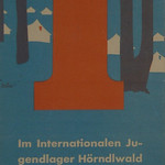 Poster for international youth camp Hörndlwald