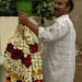 Flower Garland Man - Kollam, India