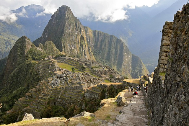 Machu Picchu from the Guard House