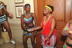 DSCF0194 Umoja Zulu Dancers The Spirit of Africa World Tour South African Musical Show Party Mayfair Night Club London